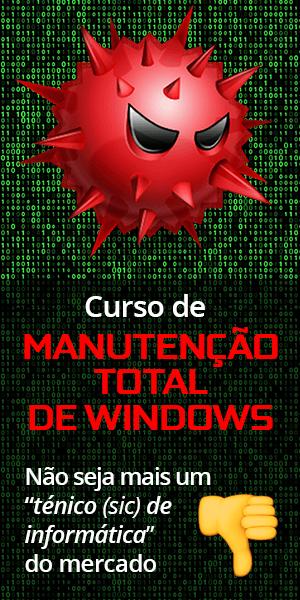 Curso de Manutenção TOTAL de Windows