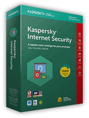 Kaspersky Internet Security 2019 | Caixa do produto