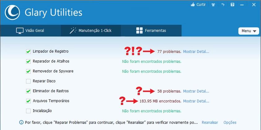 A Praga dos Otimizadores de PC   Glary Utilities