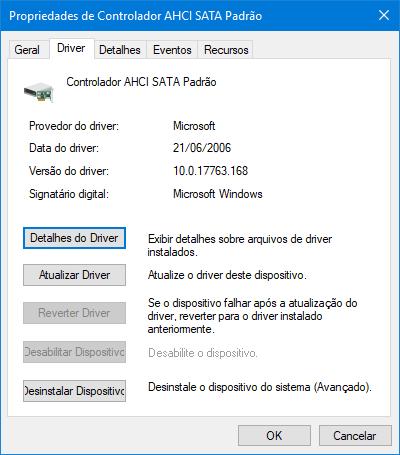 Otimização de SSD | Controladora AHCI