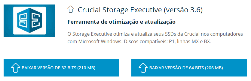 Otimização de SSD | Programa de gerenciamento de SSD