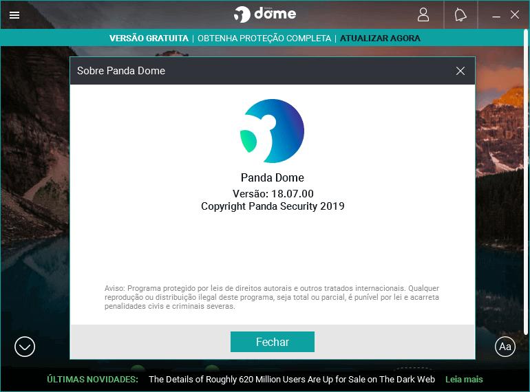 Os melhores antivírus gratuitos do mercado | Panda Dome Free (gratuito)