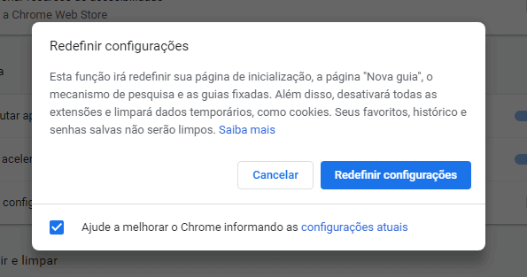Soluções para o problema do disco 100% | Redefinir Chrome