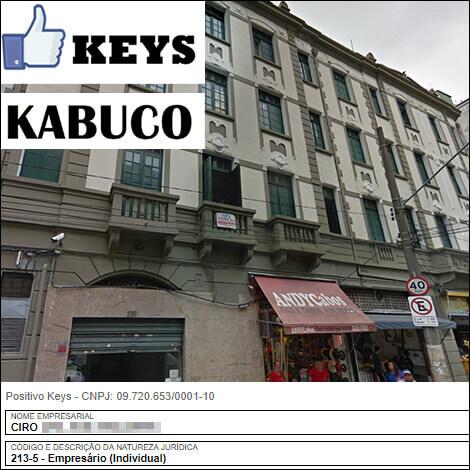 Sede da PositivoKeys e Kabuco