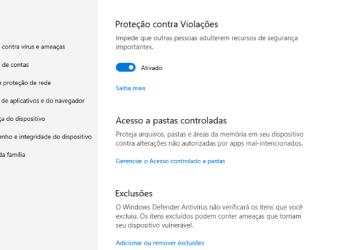 Acesso A Pastas Controladas No Windows 10 Thumbnail