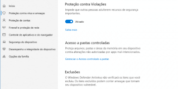 Acesso A Pastas Controladas No Windows 10 Thumbnail