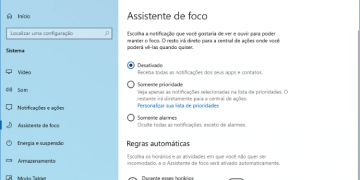 Como habilitar o Assistente de foco no Windows 10