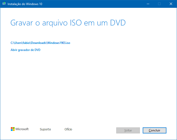Faça o download do Windows 10 May 2019 Update