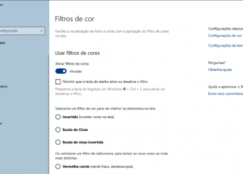 Filtros De Cores Windows 10 Thumbnail