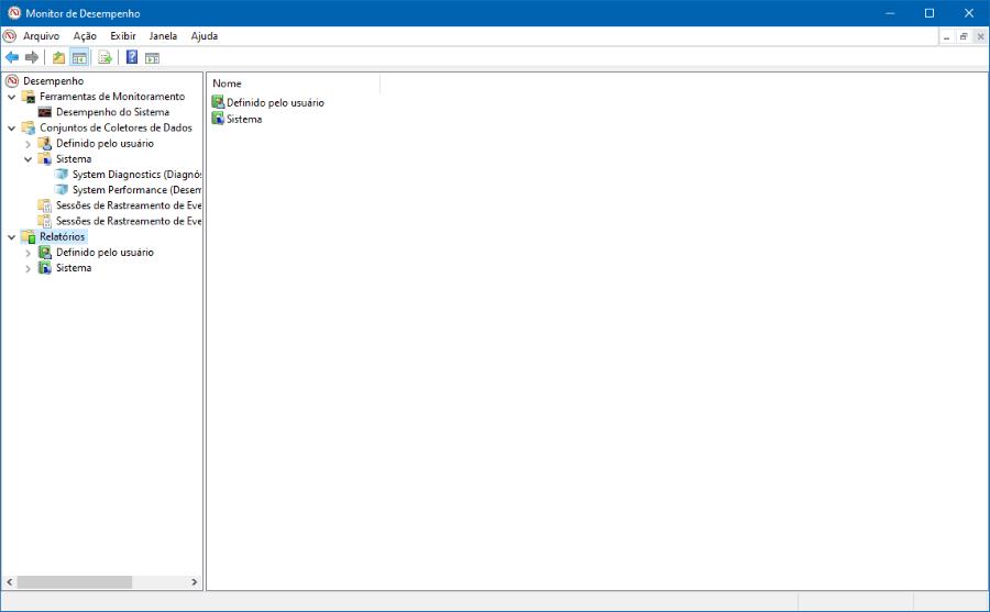 Como gerar um relatório sobre o estado de um computador com Windows 10