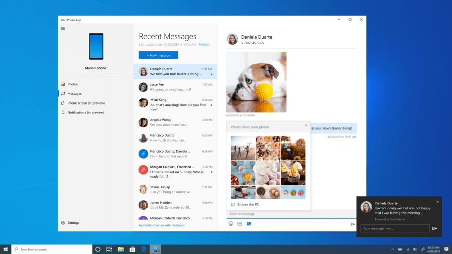 Novidades no Windows 10 Preview build 18908