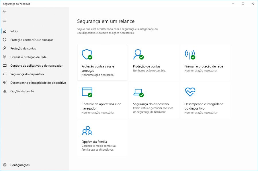 Como habilitar a Proteção contra Violações no Windows Defender do Windows 10