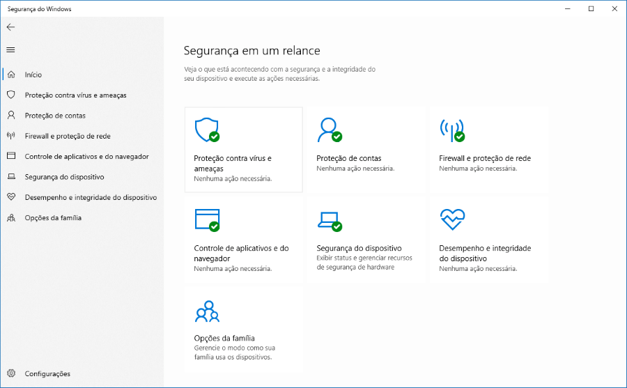 Como habilitar a verificação periódica no Windows Defender do Windows 10