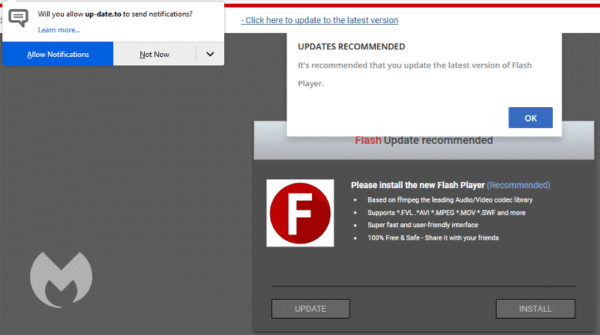 Adwares estão usando notificações como vetor de ataque