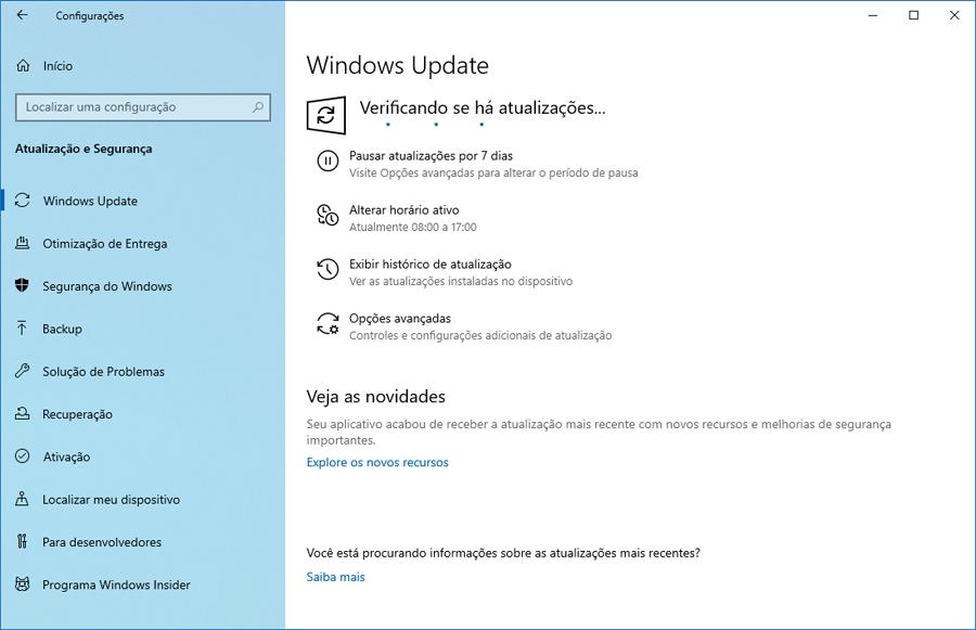Faça o download do Windows 10 Preview build 18917