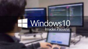 Novidades no Windows 10 Preview build 18912