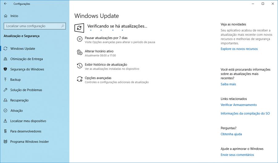 Faça o download do Windows 10 Preview build 18362.10005