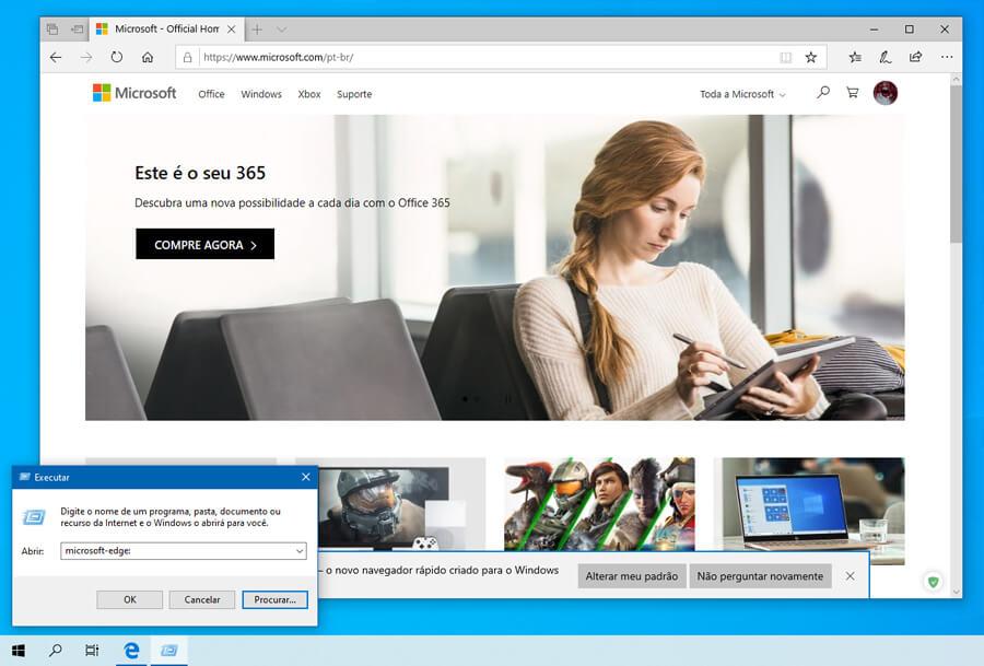 Windows 10 build 18362.266 oculta o Microsoft Edge normal quando a versão baseada no Chromium está presente