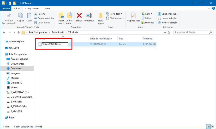 Como adicionar uma máquina virtual com o Windows XP Mode ao Hyper-V do Windows 10