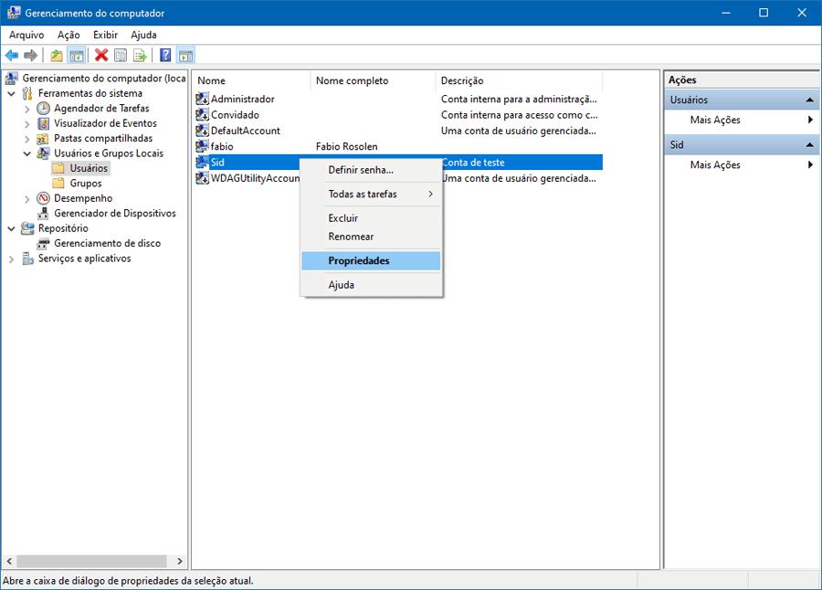 Como impedir que usuários alterem suas próprias senhas no Windows 10