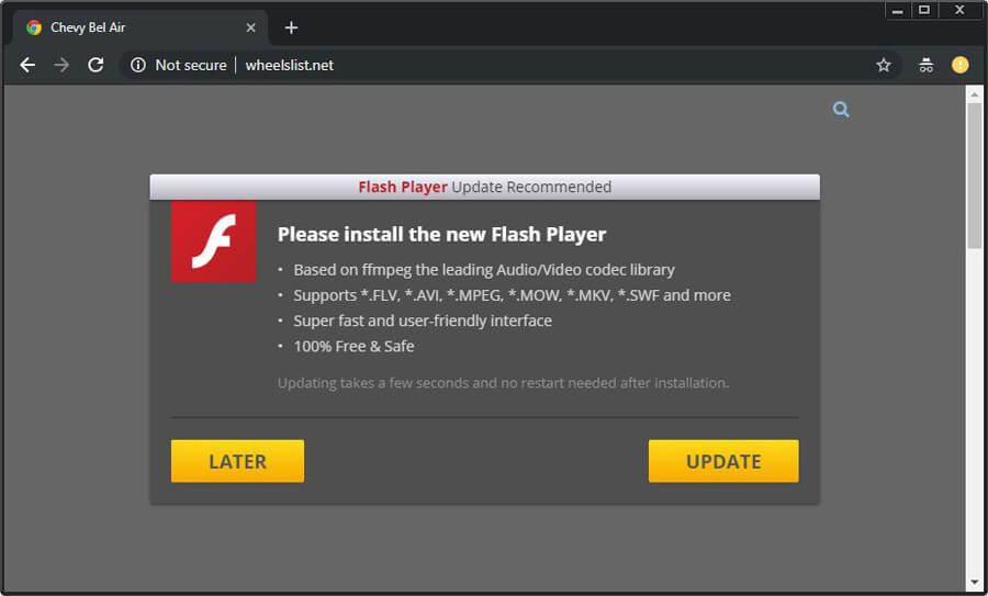 Novo kit de ferramentas distribui malwares usando alertas de atualização falsos em 30 idiomas
