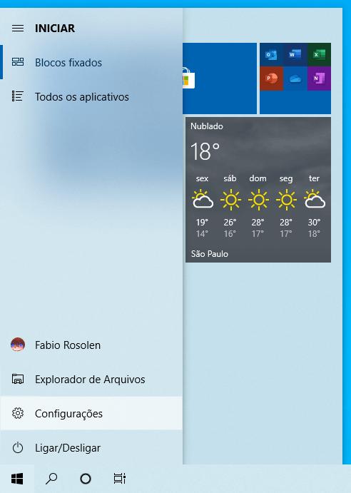 Faça o download do Windows 10 Preview build 18975