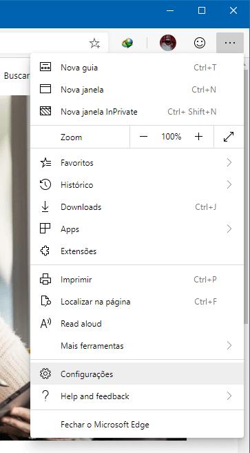 Como ativar a opção Enviar solicitações Não Rastrear no Microsoft Edge