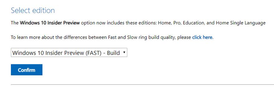 Microsoft disponibiliza ISOs do Windows 10 Preview build 18970