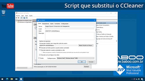 Script que substitui CCleaner